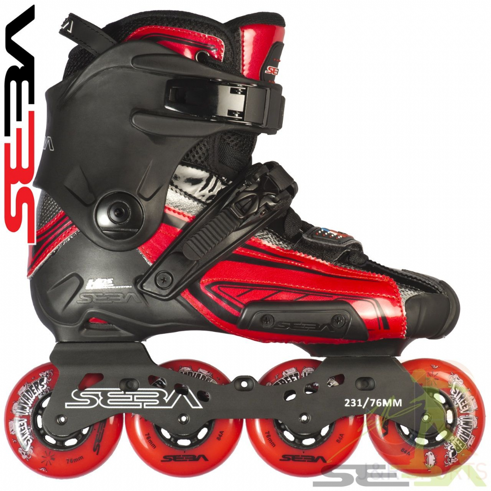 SEBA 15' HIGH Lite Red/Black LE